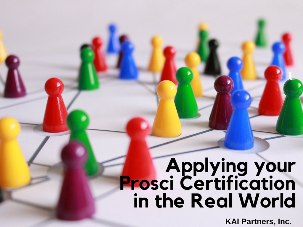 Applying your prosci certification in the real world kai partners 1betcityfo Images