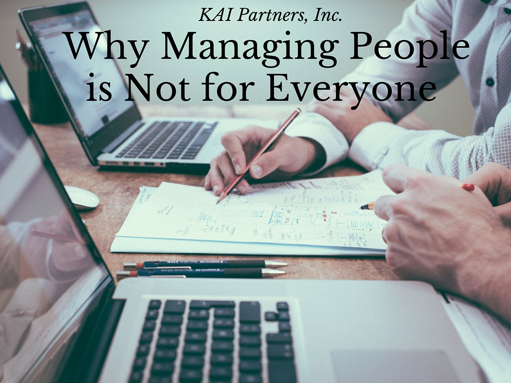 Not Managing People